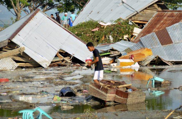 Indonesien – jordbävning och tsunami